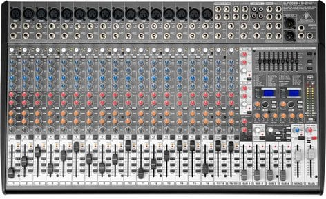 Behringer SX2442FX 24-Channel 4-Buss Mixer with 16 XENYX Microphone Preamps and 99 Digital Effects Presets SX2442FX