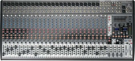 Behringer SX3242FX 32 Channel Mixer with 24 XENYX Mic Preamps, 4 Buss, 99 Digital Effects Presets SX3242FX