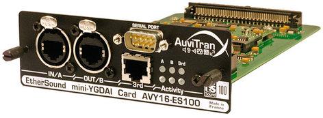 Yamaha AVY16-ES100 16 Channel, Mini YGDAI EtherSound Card, RJ45 AVY16-ES100