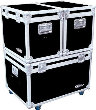 """Odyssey FZTP090W  Truck Pack Case System (with 4"""" Casters on Base Unit) FZTP090W"""