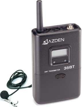 Azden 35BT  Bodypack Trans & EX-503L Mic  35BT