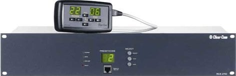 Clear-Com RCS2700 Programmable Intercom Source-Assignment Panel, 8x24 RCS2700