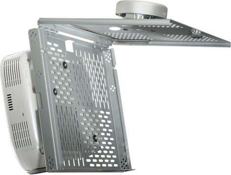 Peerless PSMU-PRS-B  Key Locking Tray Projector Mount (with Security Fasteners, Black) PSMU-PRS-B