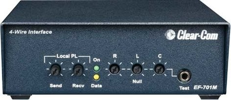 Clear-Com EF701M 4-WIre Interface with Call Signal EF701M