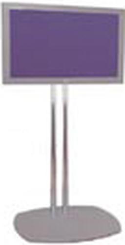 Premier PSD-TS60 Chrome Dual-Post Flatscreen Floor Stand PSD-TS60