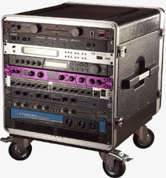 "Gator Cases GRC-BASE-14 14 RU Portable Rack (with 21"" Rackable Depth) GRC-BASE-14"