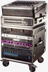 "Gator Cases GRC-BASE-14 14 RU Portable Rack (with 21"" Rackable Depth) GRC-BASE-14"