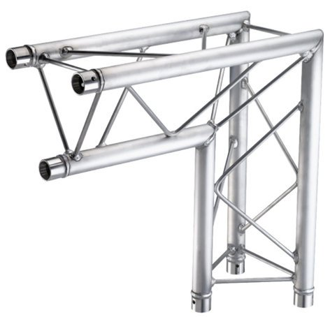 Global Truss TR-96116-25 1.64 ft. Two-Way 90° Mini Corner Junction with Apex In TR96116-25