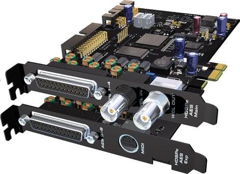 RME HDSPE-AES  24bit/192k PCI Express Card  HDSPE-AES