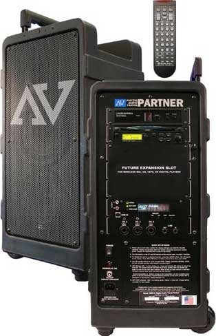 AmpliVox SW915 250W Digital Audio Travel Partner with Remote Control SW915