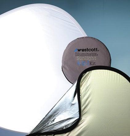"""Westcott 1036 4-In-1 Reflector Kit 52"""" 1036"""