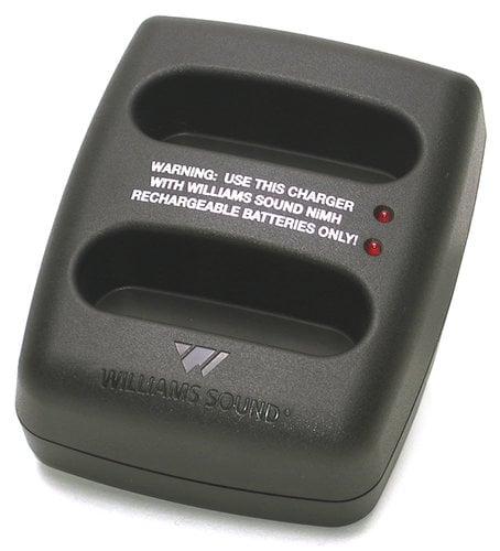 Williams Sound CHG3502  Dual Bay Charger for PFM  CHG3502