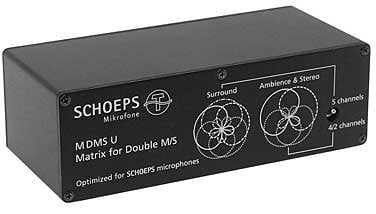 Schoeps MDMSU-MATRIX  XLR7-SLR3, Passive Matrix to 5.0 Surround MDMSU-MATRIX