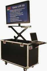 Gator Cases G-TOUR-LCDLIFT-65 ATA Road Case (for LCD & Plasma Screens) G-TOUR-LCDLIFT-65
