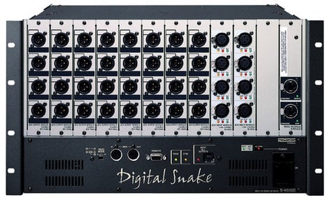 Roland System Group S4000S-4000 Digital Stage Snake Modular Rack 40 x 0 S4000S-4000