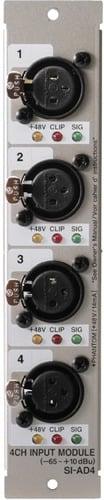 Roland System Group SIAD4 Analog Input Card 4-Ch. XLR In SIAD4