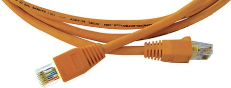Kramer CP-HDTP/HDTP-50  50 ft. Plenum Ultra Low Skew UTP RJ45 M-M Cable CP-HDTP/HDTP-50