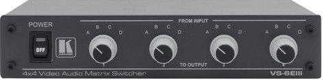 Kramer VS6EIII  Composite Video & Stereo Audio Matrix Switcher VS6EIII
