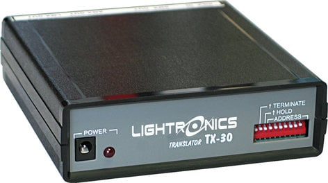 Lightronics Inc. TX-30 DMX512 to LMX128 Protocol Converter TX-30