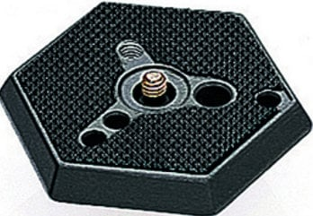 """Manfrotto 030-38  Hexagonal Release Mounting Plate (3/8"""" Thread) 030-38"""