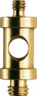 """Manfrotto 118 Male Spigot for 2905 Swivel Umbrella Adapter (1/4""""-20M & 3/8"""" M, 26mm L) 118-MANFROTTO"""
