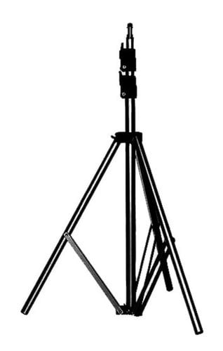 """Manfrotto 9' Basic Black Light Stand with 5/8"""" Stud and 015 Top 367B"""