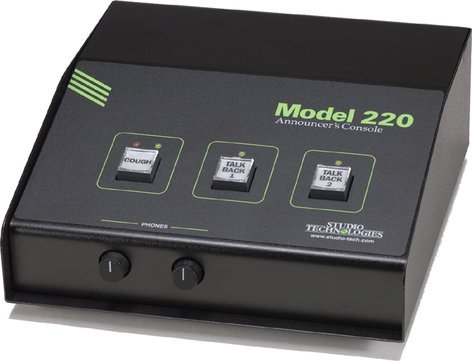 Studio Technologies MODEL-220 Model 220 Announcer's Console MODEL-220