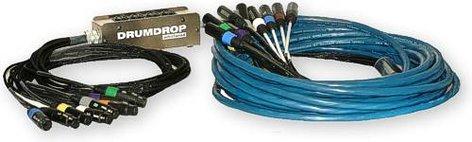 Whirlwind DRUMDROP-50  Hardwired Snake 12 Ch 50ft DRUMDROP-50
