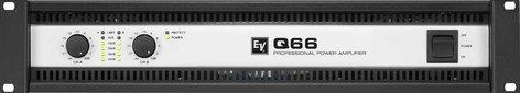 Electro-Voice Q66-II Power Amp, 2 x 600W @ 4 ohms Q66-II
