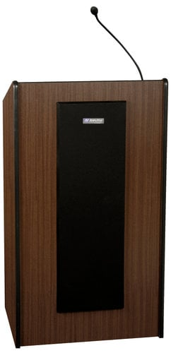 AmpliVox SW450 Wireless Presidential Plus Lectern with Handheld Microphone Transmitter SW450-HANDHELD