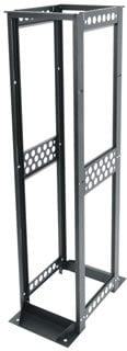 "Middle Atlantic Products R412-4524B 45 RU 4-Post Rack (24"" D, for Data Servers) R412-4524B"