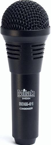 Milab BDM-01 Condenser Microphone for Bass Drums BDM-01