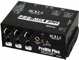 Rolls MX54s 3-Channel Microphone Mixer MX54S
