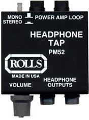 Rolls PM52 Headphone Tap PM52