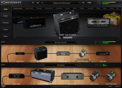 Line 6 POD Studio UX2 USB Computer Interface POD-STUDIO-UX2