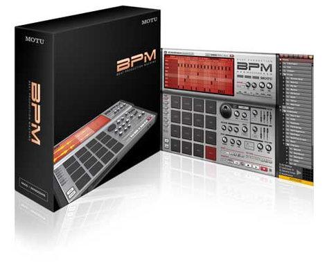 MOTU BPM Beat Production Machine Software BPM
