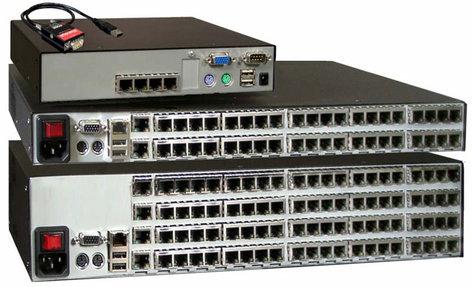 Rose Electronics XTS-V8X16D8-LU  Xtensys KVM Switch, PS2 and USB ports XTS-V8X16D8-LU