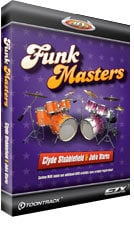 Toontrack Funkmasters EZX Drum Expansion for EZdrummer/Superior Drummer (Electronic Delivery) FUNKMASTERS