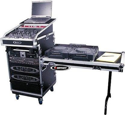 Odyssey FZGS1316WDLX  Glide Style Rack/Mixer Case FZGS1316WDLX