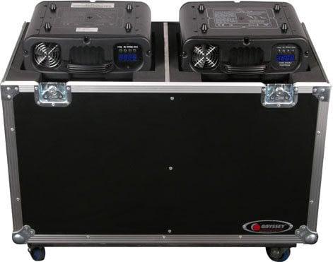 Odyssey FZMH250X2W Dual 250 Style Moving Head Lighting Case Case FZMH250X2W