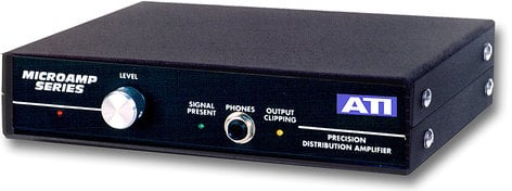 Audio Technologies DA1000 Distribution Amp, Analog, 1x8 DA1000