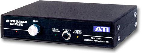 Audio Technologies Inc. DA1000 Distribution Amp, Analog, 1x8 DA1000