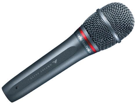 Audio-Technica AE6100 Handheld Dynamic Microphone, Hypercardioid AE6100