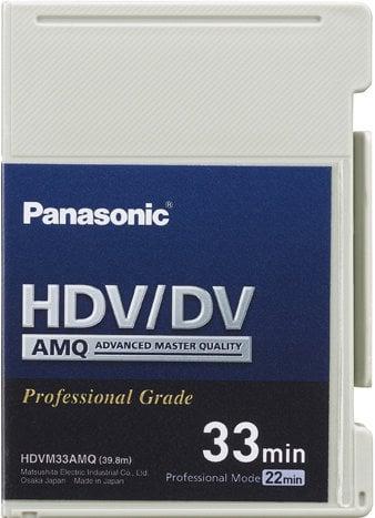 Panasonic PA-AYHDVM33AMQ 33 Minute Advanced Master Quality DVCAM Mini-Cassette PA-AYHDVM33AMQ