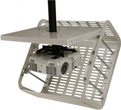 Peerless PE1120-W Projector Security Cage in White PE1120-W