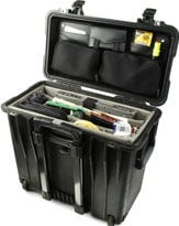 Pelican Cases PC1444 Toploader Case with Padded Divider & Lid Organizer PC1444