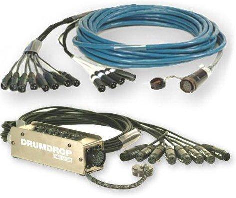 Whirlwind DRUMDROPKITF-50  50 ft Drumdrop with Box, Disconnect DRUMDROPKITF-50