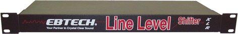 Ebtech LLS8XLR-BLACK  Line Level Shifter, Rackmount, XLR Connectors LLS8XLR-BLACK