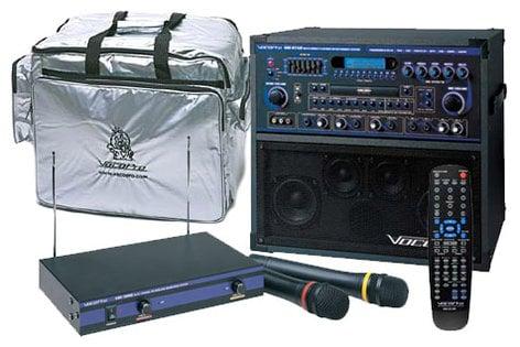 VocoPro GIGSTAR-PRO-II Professional Karaoke System Package, 100W GIGSTAR-PRO-II