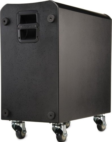 "QSC KSub Dual 12"" Bandpass Transducer Powered Loudspeaker with Speaker Pole KSUB-QSC"